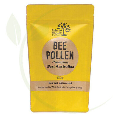 Eden Healthfoods Bee Pollen Raw & Unprocessed 180g