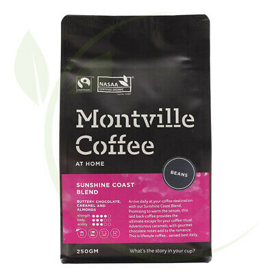 Montville Coffee Sunshine Coast Beans 250g