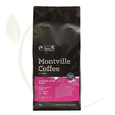 Montville Coffee Sunshine Coast Plunger Ground - 1kg