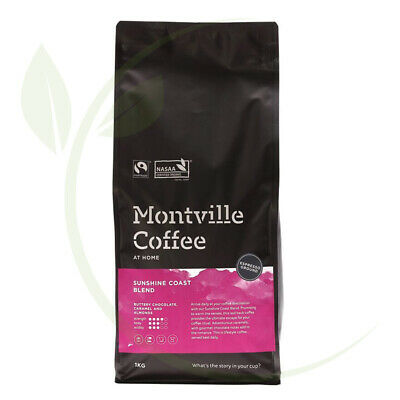 Montville Coffee Sunshine Coast Coast Espresso Ground- 1kg