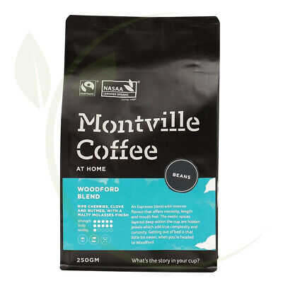 Montville Coffee Woodford Beans - 250g