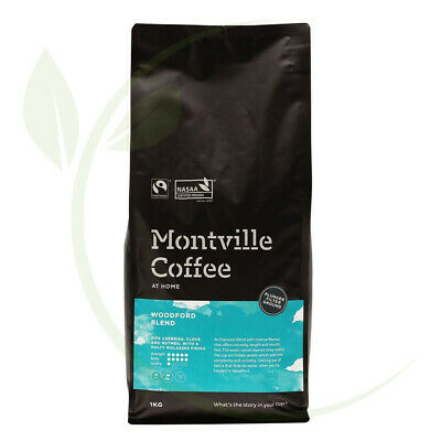 Montville Coffee Woodford Plunger Ground - 1kg