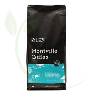 Montville Coffee Woodford Espresso Ground - 1kg