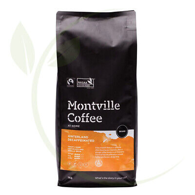Montville Coffee Hinterland Blend Decaf(Swiss Water) Coffee Beans -1kg