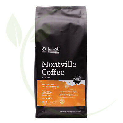 Montville Coffee Hinterland Blend Decaf(Swiss Water) Plunger Ground 1kg