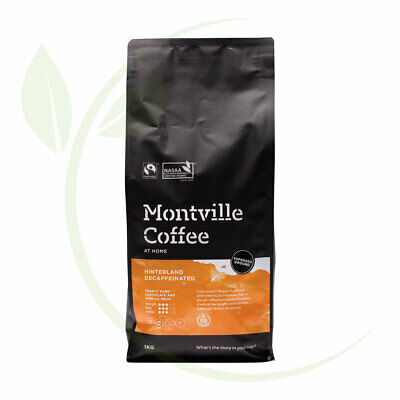 Montville Coffee Hinterland Blend Decaf(Swiss Water) Espresso Ground - 1kg