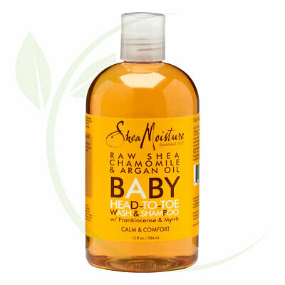 SheaMoisture Raw Shea Chamomile & Argan Oil Baby Head-To-Toe Wash & Shampoo -...