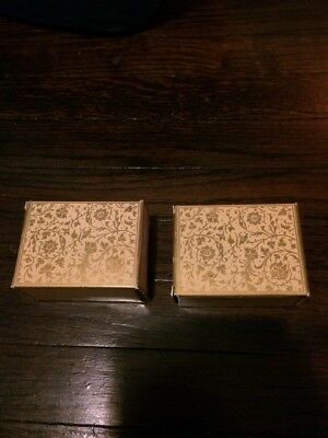 Vintage 80's Avon Letter Perfect Guest Soap Set Of 2 boxes New #131