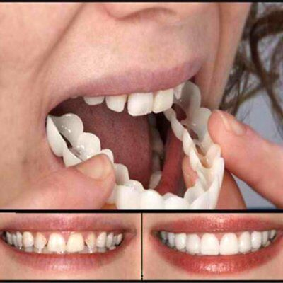 Tooth Instant Perfect Smile Flex Teeth Whitening Smile False Teeth Cover DA