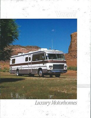 MOTOR HOME BROCHURE - El Dorado RV - 1000 5000 series - 1983
