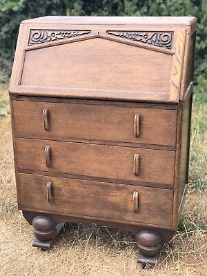 Vintage Jentique Vintage Writing Desk Bureau