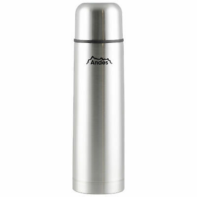Andes 500ml Stainless Steel Insulated Vacuum Travel Tea/Coffee Thermos Flask