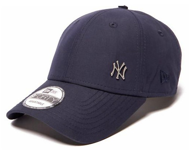 New Era Men 9Forty Baseball Cap.new York Yankees Flawless Navy Curved Peak  Hat 7 9c1839cde9a3