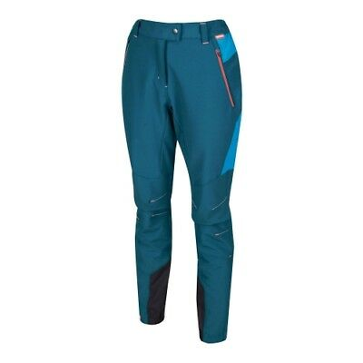 Regatta Mountain Trousers Wms moroccan blue/blue reef Frauen Softshell-Hose blau