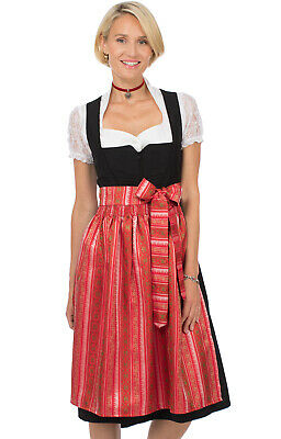 Stockerpoint Dirndl Apron Midi 70cm SC265 Red