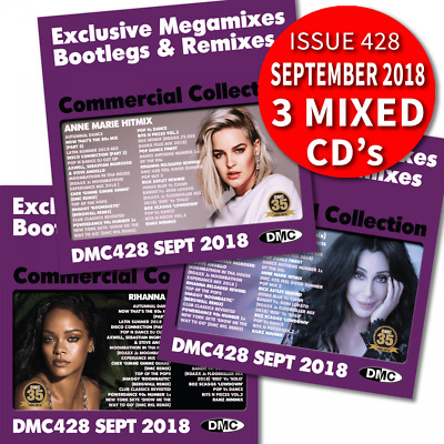 DMC Commercial Collection 428 Bootleg Remixes & Megamixes DJ Triple Music CD Mix