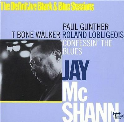 Confessin' the Blues by Jay McShann (CD, May-2000, Black & Blue/Night & Day)