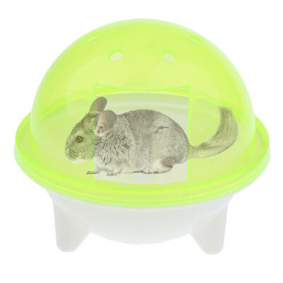Ferret Bath Pool Chinchilla Dust Sand Bathroom Shower Hamster Mice Yellow