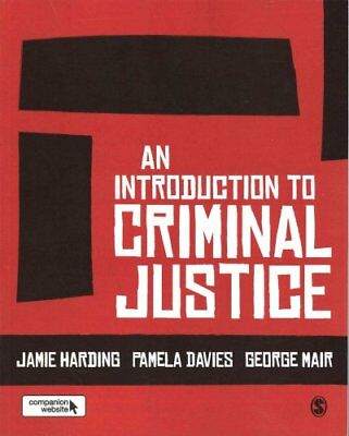 An Introduction to Criminal Justice by Jamie Harding 9781412962124