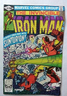 Invincible Iron Man Bronze Age Lot 143,144,145,146 FN to VFN+/NM- 1981