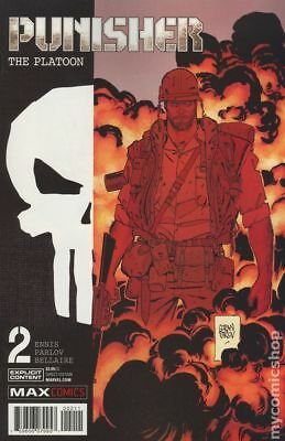 Punisher The Platoon (Marvel) #2A 2017 Parlov Variant VF Stock Image