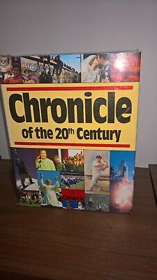 Book - Chronicle of the 20th Century Published 1990 in excellent condition