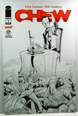 Image: CHEW #1 VF/NM (2009) Larry's Sketch Variant Third Printing
