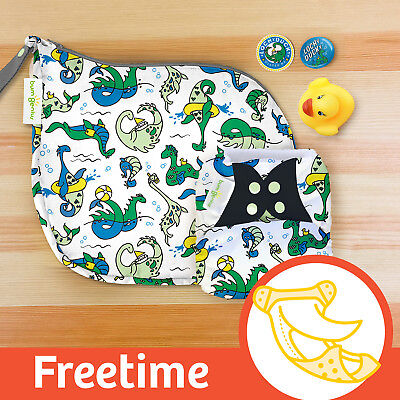 ' LOCHy DUCKy '   DOODLES series limited edition BumGenius  Freetime Nappy