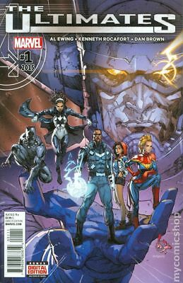 Ultimates (Marvel) 1A 2016 NM Stock Image