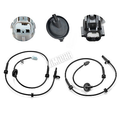 2 Pcs Front Left & Right ABS Wheel Speed Sensor For 04-08 Nissan Maxima ALS286