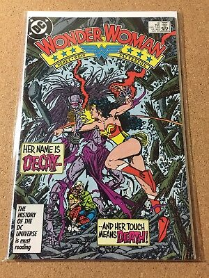 DC Comics WONDER WOMAN (1987) #4 George Perez 9.4 NM Copper Age