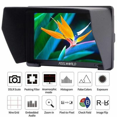 "FEELWORLD T7 7"" 4K Full HD IPS 1920x1200P On-camera Monitor HDMI Fr Camera Video"