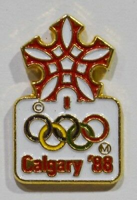 Pins Jeux Olympiques Calgary 1988 Canada