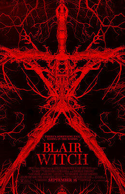 Blair Witch  The Woods - original DS movie poster - 27x40 D/S FINAL