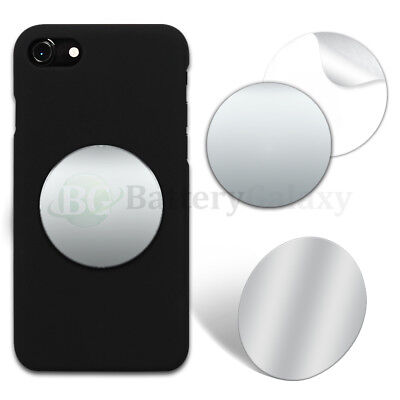 "100 Selfie Small Mirror Circle 2"" Anti-Scratch for Samsung S7 S8 S8+ Plus Note 8"