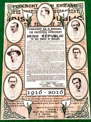 Irish Republican Postcards Set Easter Rising Gpo 1916 Dublin Pearse Connolly Ira