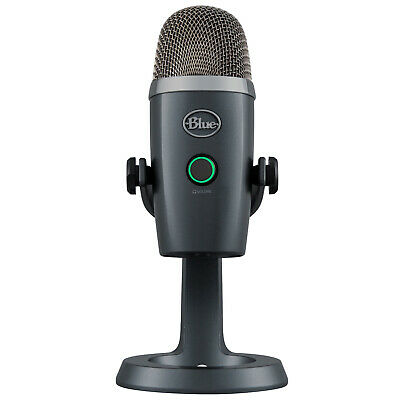 Blue Yeti Nano Premium USB Microphone (Shadow Gray)