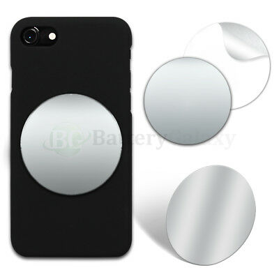 "50X Selfie Small Mirror Circle 2.35"" Anti-Scratch for Apple iPhone/Android Phone"