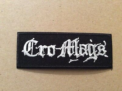 M411 // Ecusson Patch Aufnaher Toppa / Cro Mags 10*3,5 Cm