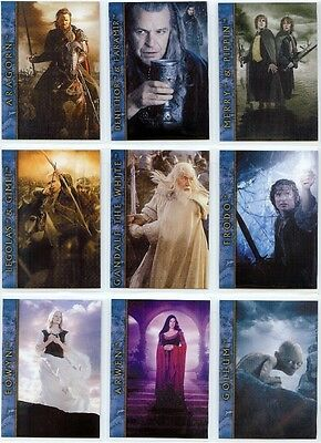 Lord of the Rings The Return of the King Nine Card Promotional Set
