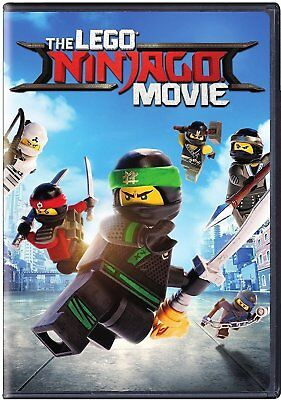 The LEGO NINJAGO Movie (DVD, 2017)