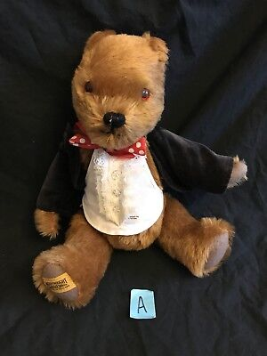 Merrythought Teddy Bear made in England Limited Edition Jointed