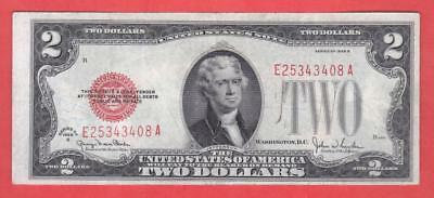 $2 1928G High Grade RED SEAL United States Note!           x6a