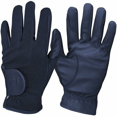 Mark Todd Childs Super Kids Gloves Everyday Riding Glove - Navy All Sizes