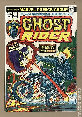 Ghost Rider (1st Series) #5 1974 VG 4.0