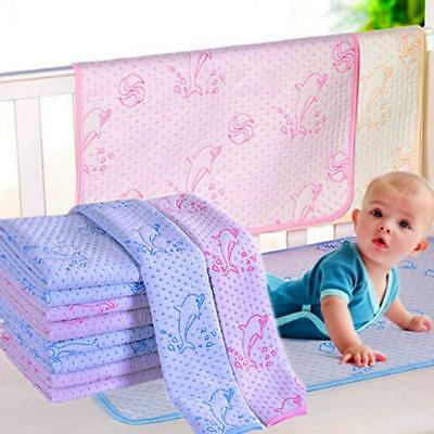 Baby Kids Waterproof Bedding Diapering Changing Mat Washable Breathable C