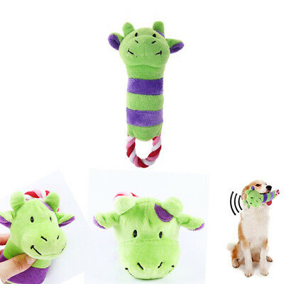 Soft Pet Puppy Calf Donkey Chew Play Squeaker Cute Plush Sound For Dog Toys Z