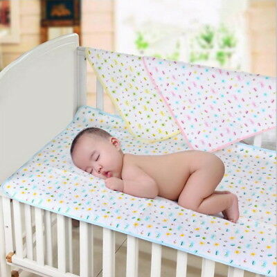 Breathable Waterproof Baby Infant Urine Mat Soft Diaper Nappy Changing Pad Cover