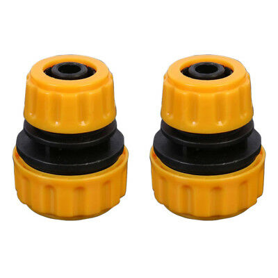 "2pcs 1/2"" to 5/8"" Water Hose Adapter Quick Connect for Water Pipe Fish Tank"