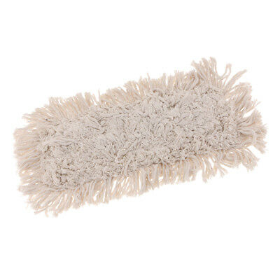 "16"" Industrial Strength Cotton Dust Mop Head Refill for Home, Commercial Use"